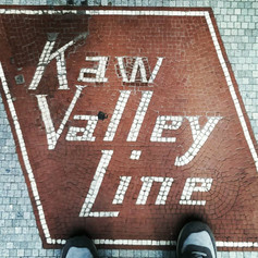 Favorite Signs of #LFK, No. 4: Kaw Valley Line (fun fact edition). Did you know that La Prima Tazza used to be a bus station before it sold amazing coffee drinks? It's true! Which is why it says Kaw Valley Line outside. Bonus fun fact: Free State Brewing Co. next door used to be the garage where they kept and maintained the buses.
