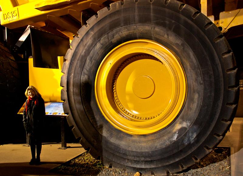Kalgoorlie - the BIG wheel