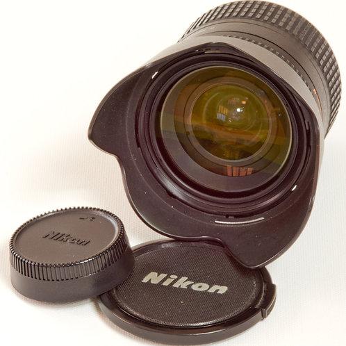 Nikkor AF 24-85mm F2.8 - 4D macro zoom lens with lens caps