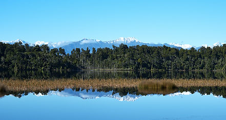 Lake Mahinapua, West Coast, South Island, NZ