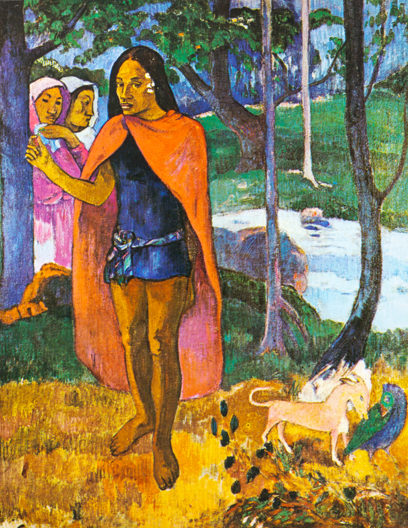 The Witch Doctor by Paul Gauguin