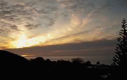 G Spot sunset Raglan