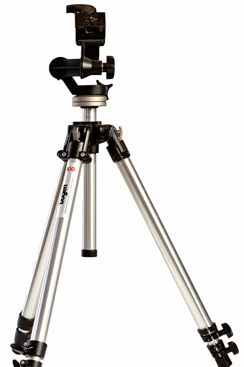 Bogen Manfrotto tripod with head