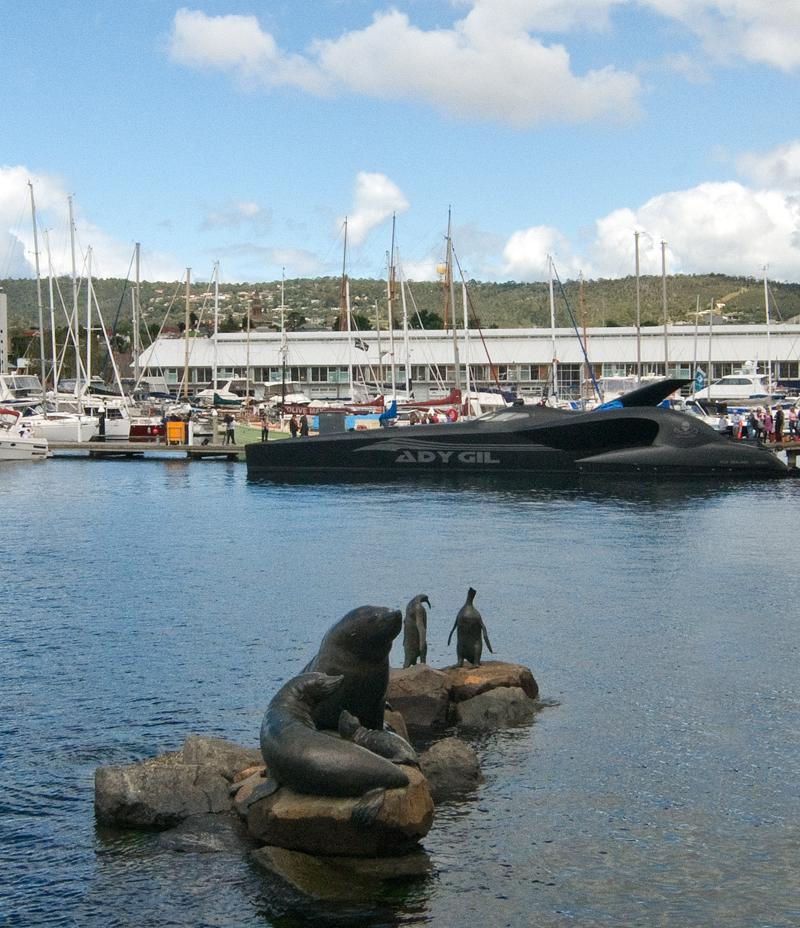 'AdyGil' Constitution Dock, Hobart