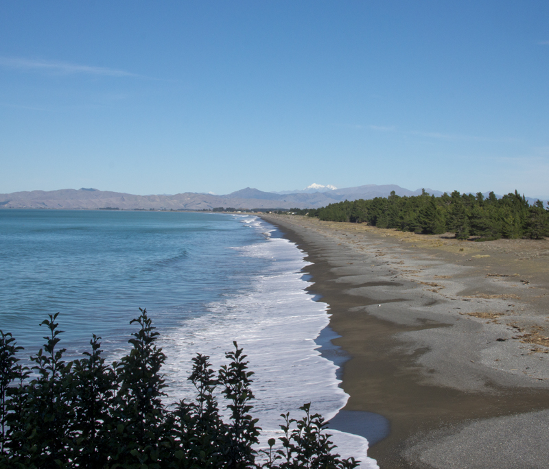 Rarangi Beach South Is NZ