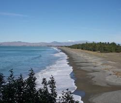 Rarangi Beach South Is NZ