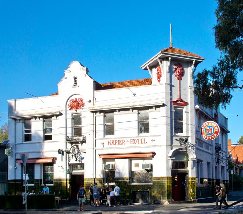 Napier Hotel Brunswick Melbourne
