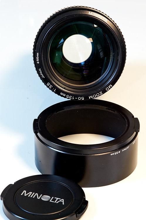 Minolta MD 50-135mm F3.5 Lens