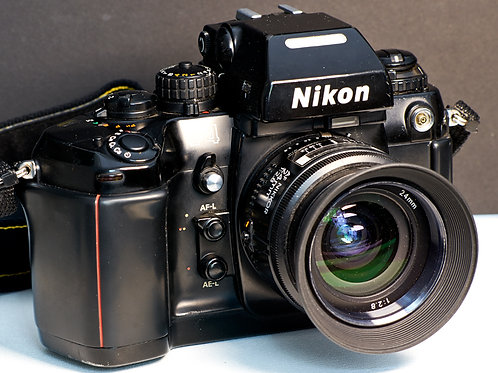 Nikon F4 SLR Camera Body with MF-23 back S #2305896