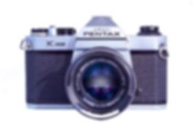 Pentax K1000 SLR film camera