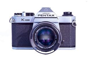 Pentax K1000 SLR fim camera