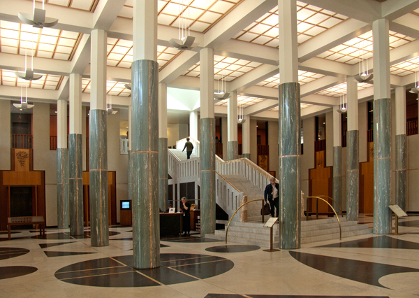 Parliament House  Foyer