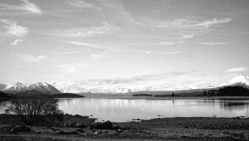 Lake Pukaki reflections