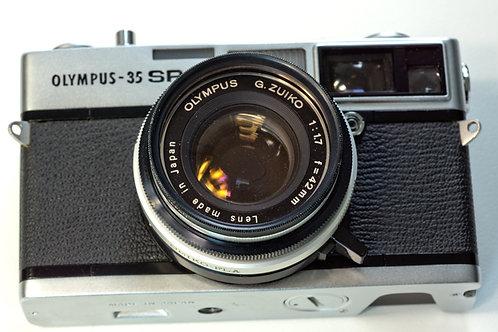 Olympus 35-SP Rangefinder camera front view