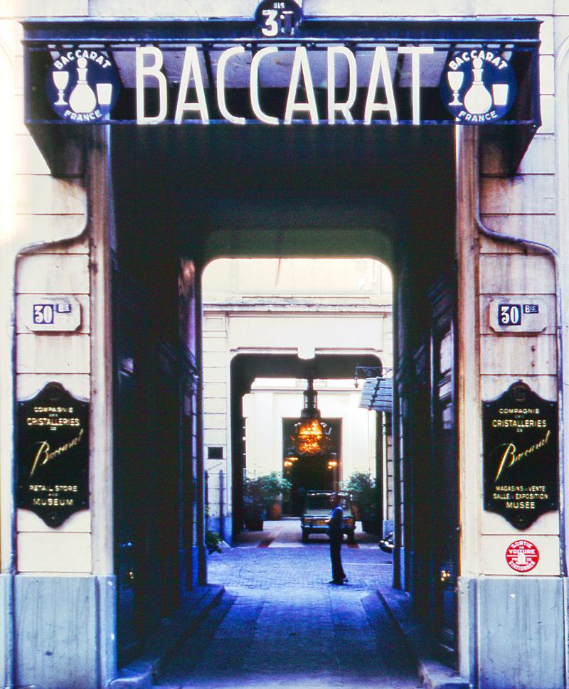 Old Baccarat Museum Paris