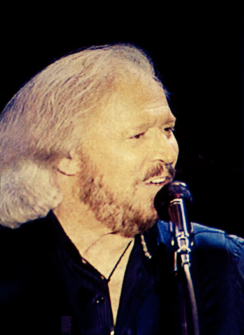 Barry Gibb at The Mission