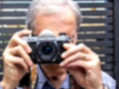 Pentax K1000 SLR with 28mm SMC lens.