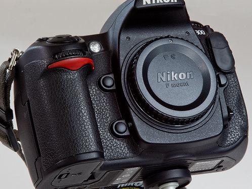 Nikon D300 DX camera body front view