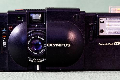 Olympus XA rangefinder with A16 flash S# 5186243