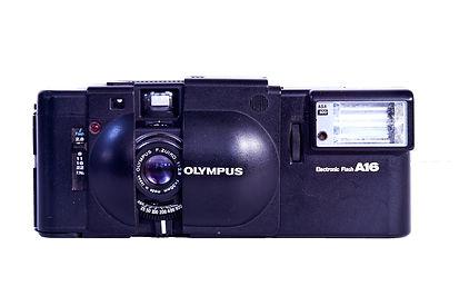 Olympus XA with A16
