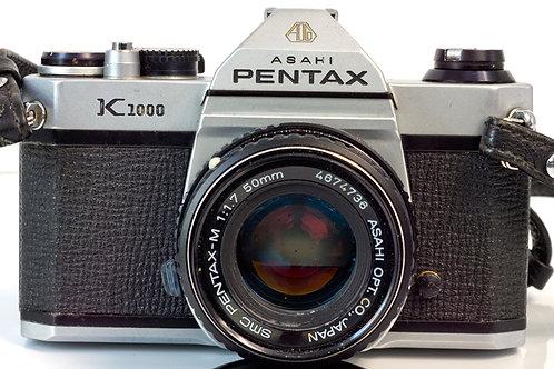 Asahi Pentax K1000 body S# 6106132