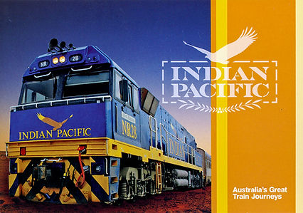 Indian Pacific NR Locomotive