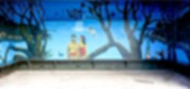 Blockhouse Bay wall mural, Auckland NZ