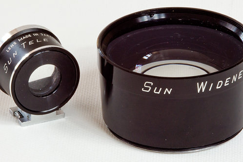 Sun Widenet and Telenet for rangefinder cameras with 49mm filter threads