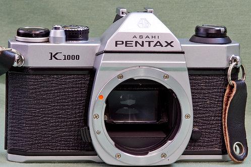 Pentax K1000 body front view