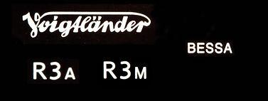 Voigtlander R3A, R3M Rangefinder cameras
