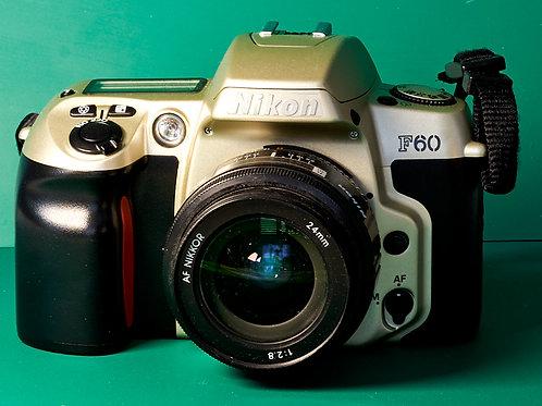 Nikkor 24mm F2.8 AF prime lens