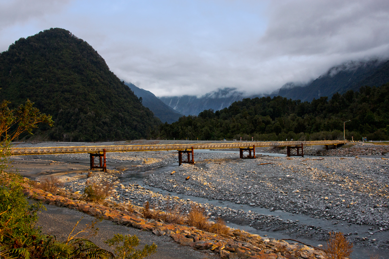 Waiho River Bridge Franz Josef