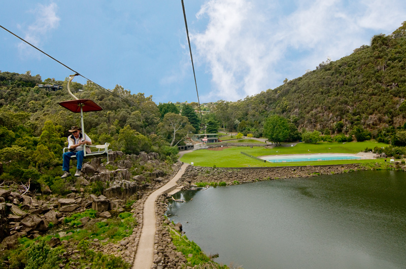 Cataract Gorge Basin Lift