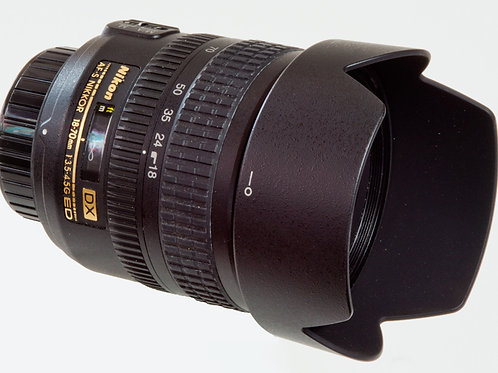 Nikkor AFS 18-70mm F3.5 - 4.5 G ED DX lens main view
