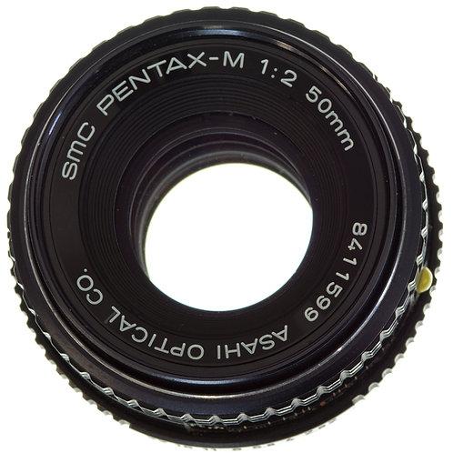 Pentax-M SMC 50mm F2 MF lens S#8411599