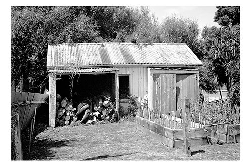 Paparoa woodshed