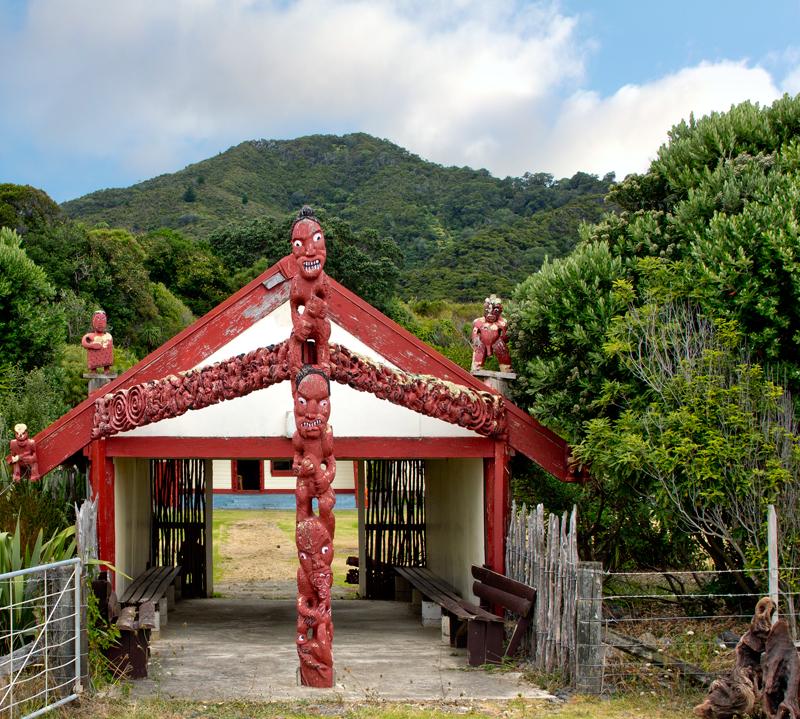 Eastland, Maori carved gateway