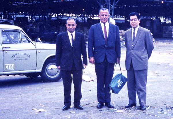Bob Donald in Japan 1965