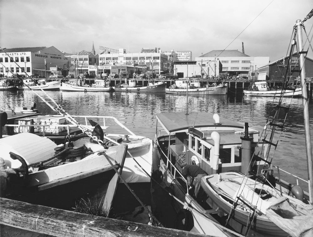 Viaduct Basin 1950s