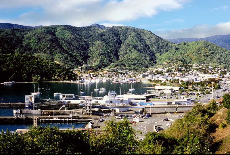 Picton Harbour South Is NZ
