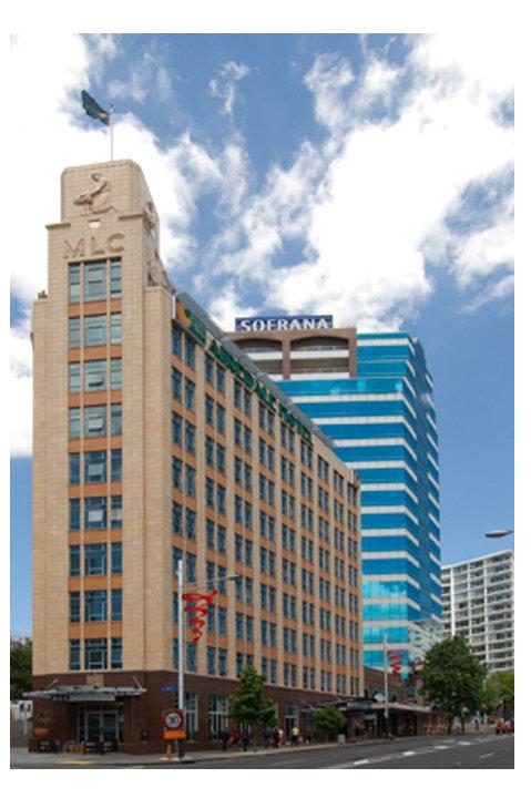 MLC Building Queen Street Auckland