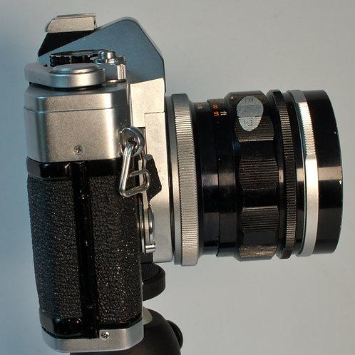 Canon FTb with 35mm lens