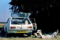 Normandy roadside picnic