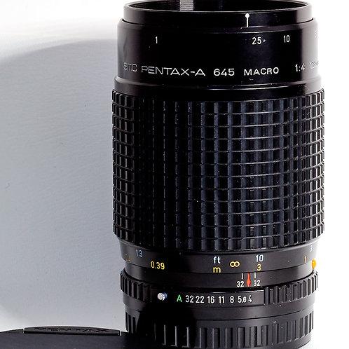 Pentax 645 SMC-A 120mm F4 macro lens