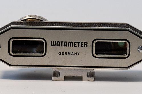 Watameter shoe mounted rangefinder