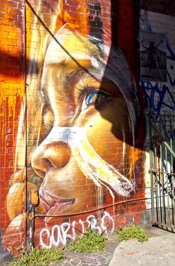 Brunswick street art MelbourneAu