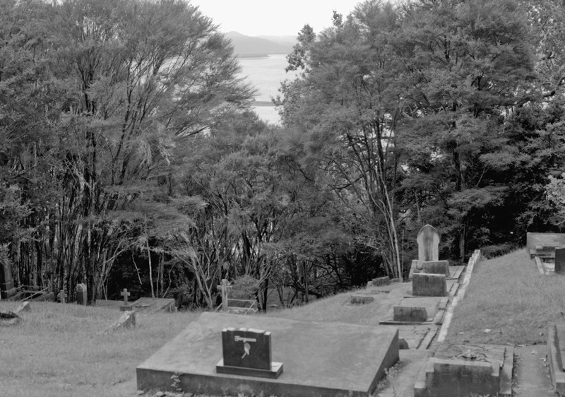 KohuKohu hillside cemetery