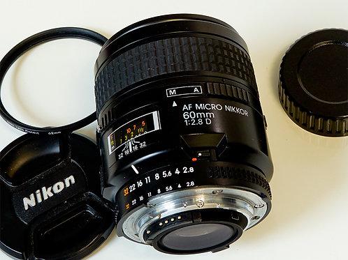Nikkor AF 60mm Micro f2.8D