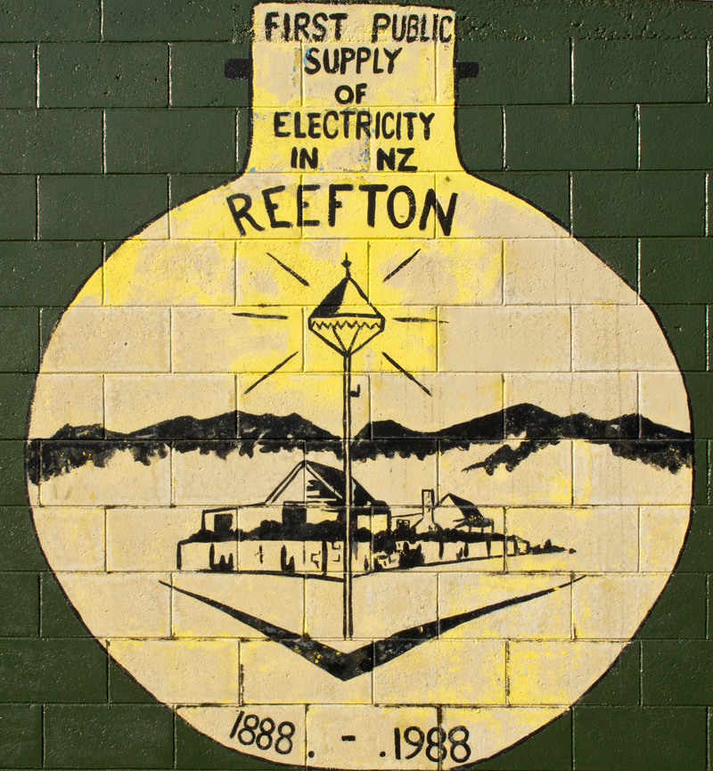 Reefton electric light