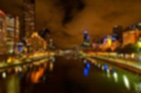 Southbank, Melbourne, night